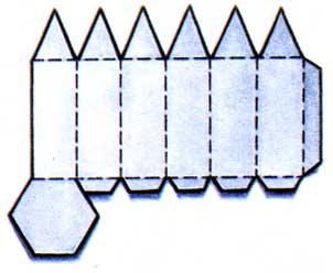 Карандаш из бумаги своими руками шаблоны
